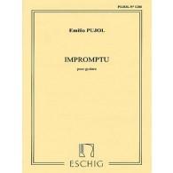 PUJOL E. IMPROMPTU GUITARE