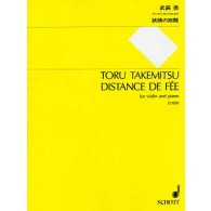 TAKEMITSU T. DISTANCE DE FEE VIOLON