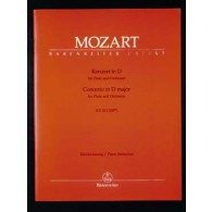 MOZART W.A. CONCERTO N°2 K 314 FLUTE