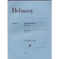 DEBUSSY C. OEUVRES VOL 1 PIANO