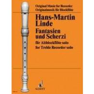 LINDE H.M. FANTASIEN UND SCHERZI FLUTE ALTO