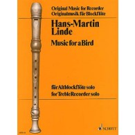LINDE H.M. MUSIC FOR A BIRD FLUTE ALTO