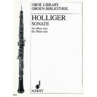 HOLLIGER H. SONATE HAUTBOIS
