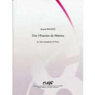 PROUST P. UNE HISTOIRE DE MARINS SAXO