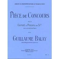 BALAY G. PIECE DE CONCOURS TROMPETTE