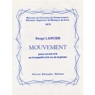 LANCEN S. MOUVEMENT CORNET OU TROMPETTE