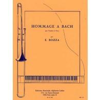 BOZZA E. HOMMAGE A BACH TROMBONE