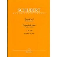 SCHUBERT F. WANDERER FANTAISIE PIANO