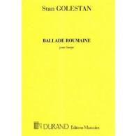 GOLESTAN S. BALLADE ROUMAINE HARPE