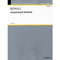 BOXALL HARPSICHORD METHOD CLAVECIN