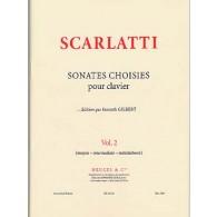SCARLATTI D. SONATES CHOISIES VOL 2 CLAVECIN
