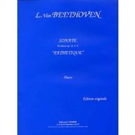 BEETHOVEN L. SONATE N°08 OP 13 PIANO