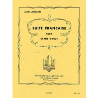 LANGLAIS J. SUITE FRANCAISE ORGUE