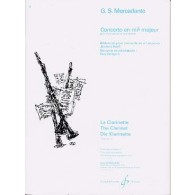MERCADANTE G.S. CONCERTO MIB MAJEUR CLARINETTE