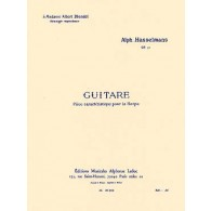 HASSELMANS A. GUITARE OP 50 HARPE