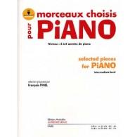 MORCEAUX CHOISIS PIANO