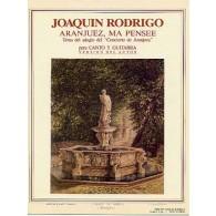 RODRIGO J. ARANJUEZ MA PENSEE CHANT GUITARE