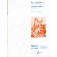 CAPELIER M. PIECES FACILES HARPE