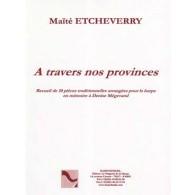 ETCHEVERRY M. A TRAVERS NOS PROVINCES HARPE