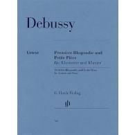 DEBUSSY C. 1RE RHAPSODIE - PETITE PIECE CLARINETTE