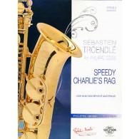 TROENDLE S. SPEEDY CHARLIE'S RAG SAXOPHONE MIB