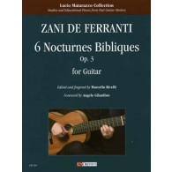 DE FERRANTI Z. NOCTURNES BIBLIQUES OP 3 GUITARE