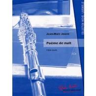 JOUVE J.M. POEME DE NUIT FLUTE