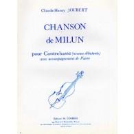 JOUBERT C.H. CHANSON DE MILUN CONTREBASSE