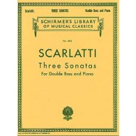 SCARLATTI D. SONATES CONTREBASSE