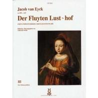 VAN EYCK J. DER FLUYTEN LUST-HOF VOL 3 FLUTE A BEC