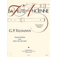TELEMANN G.P. FANTAISIES TW 40 FLUTE A BEC
