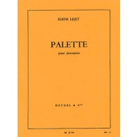 LEJET E. PALETTE PERCUSSION
