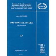 SICHLER J. BOUTONS DE NACRE ACCORDEON
