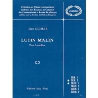 SICHLER J. LUTIN MALIN ACCORDEON