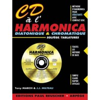 MARCH T./MILTEAU J.J CD A L'HARMONICA