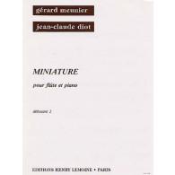 MEUNIER G./DIOT J.C. MINIATURE FLUTE