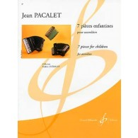 PACALET J. PIECES ENFANTINES ACCORDEON