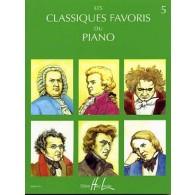 CLASSIQUES FAVORIS DU PIANO VOL 5