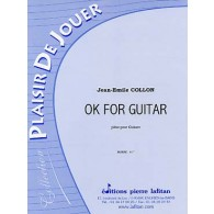 COLLON J.E. OK FOR GUITAR GUITARE