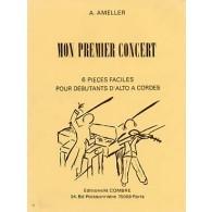 AMELLER A. MON PREMIER CONCERT ALTO