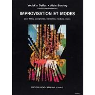 BOUHEY A./SEFFER Y. IMPROVISATIONS ET MODES FLUTE