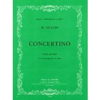 CECCONI M. CONCERTINO BASSON
