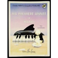 HERVE C./POUILLARD J. MA PREMIERE ANNEE DE PIANO