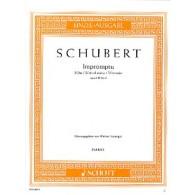 SCHUBERT F. IMPROMPTU OP 142 N°3 PIANO