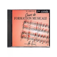 LABROUSSE M. COURS DE FORMATION MUSICALE 2ME ANNEE CD