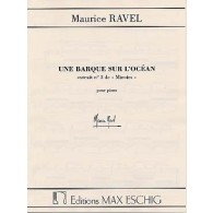 RAVEL M. MIROIRS: UNE BARQUE SUR L'OCEAN PIANO