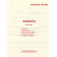RAVEL M. MIROIRS: LA VALLEE DES CLOCHES PIANO