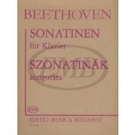 BEETHOVEN L.V. SONATINES PIANO