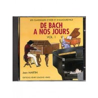 DE BACH A NOS JOURS VOL 1A PIANO CD