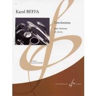 BEFFA K. GRAVITATIONS CLARINETTE